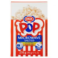 POP CORN PATA MICROON SAL 270G     TT